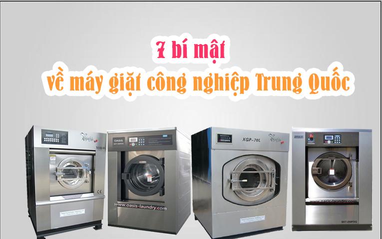 Máy giặt công nghiệp Trung Quốc