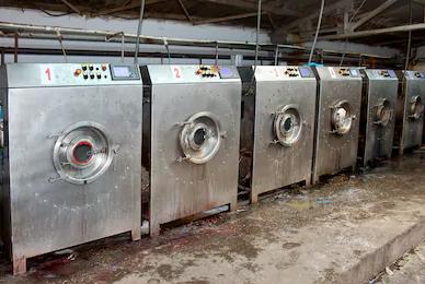 máy giặt công nghiệp cũ 1