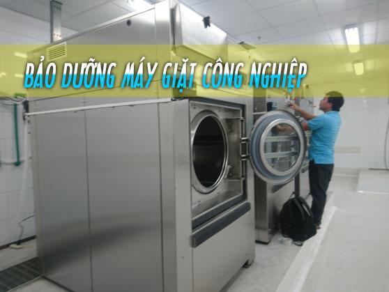 bảo dưỡng máy giặt công nghiệp