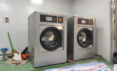 máy giặt công nghiệp đế mềm