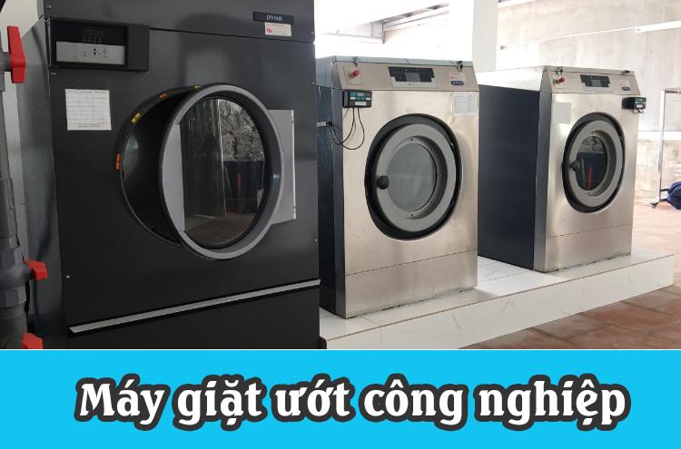 máy giặt ướt công nghiệp