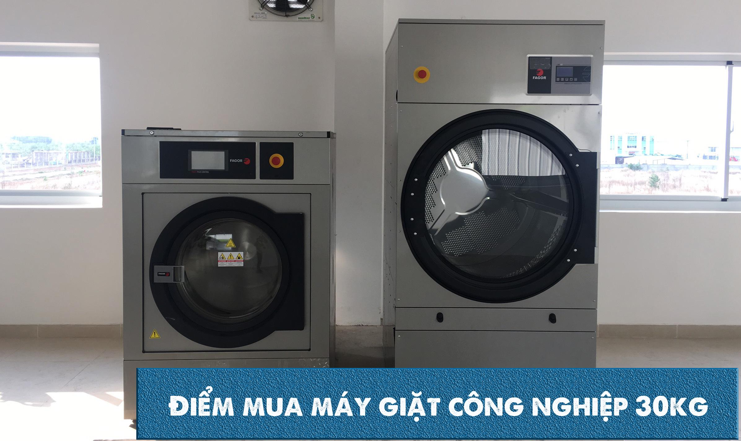 mua máy giặt công nghiệp 30kg